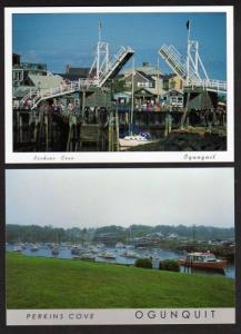 ME Lot 2 Perkins Cove OGUNQUIT MAINE PC Postcards