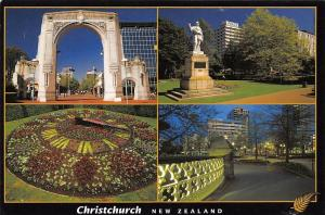 New Zealand Christchurch Canterbury Bridge Remembrance Statue