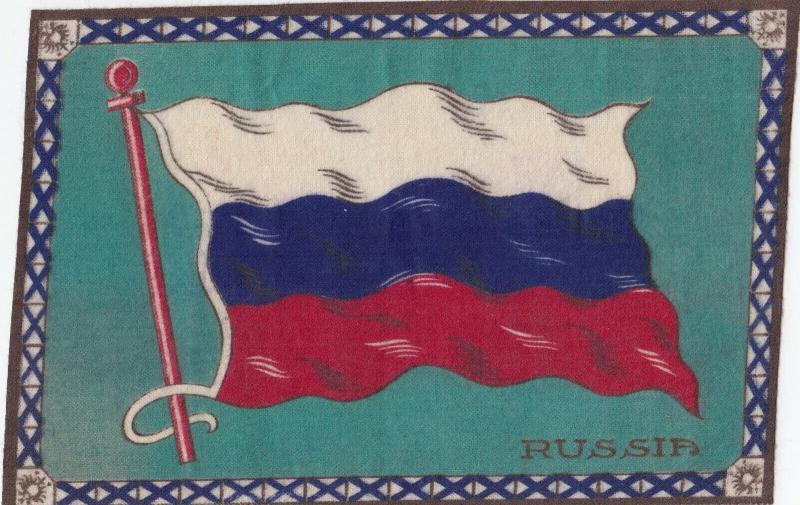 Tobacco Flag Silk , 00-10s ; RUSSIA
