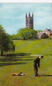 Golfing At Cleveland Memorial Tower Graduate College Princeton University New...