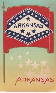 ARKANSAS , State Flag , 40-50s ; Serigraph