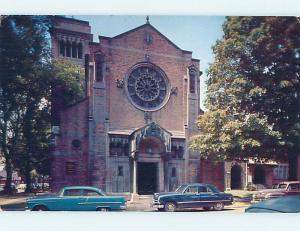 Unused Pre-1980 CHURCH SCENE Jamestown New York NY L3066