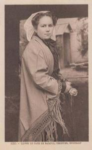 French Treguier Guingamp Pays De Pampol France Antique Fashion Vintage Postcard
