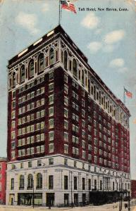 New Haven CT Renaissance Revival Architecture~Taft Hotel (Now Apts) 1913