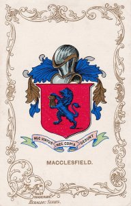 MACCLESFIELD, Cheshire, England, 1900-1910s; Coat Of Arms