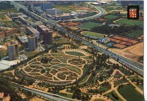 Postal 016813: BARCELONA - Vista aerea Zona Universitaria