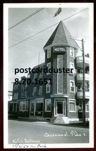 1651 - CAUSAPSCAL Quebec 1950s Hotel Belleuve. Real Photo Postcard
