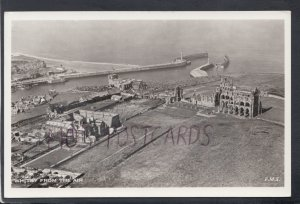 Yorkshire Postcard - Whitby From The Air    HM607