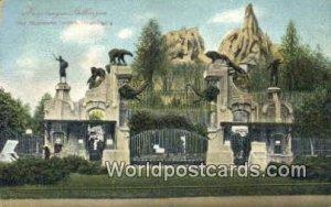 Karl Hagenbecks Tierpark Hamburg Germany Unused