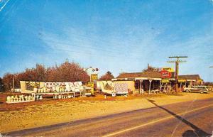 Green Forest Arkansas Richeys Gift Shop Street View Vintage Postcard K90903