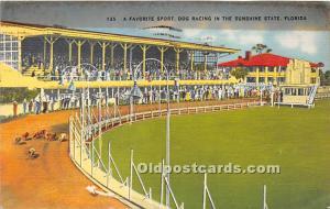A Favorite Sport, Dog Racing Florida, FL, USA 1940