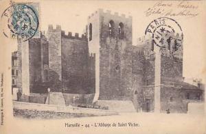 L'Abbaye De Saint Victor, Marseille (Bouches-du-Rhône), France, PU-1906