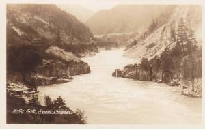 RP, Hells Gate, Fraser Canyon, British Columbia, Canada, 1920-1940s