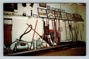 Minden NE- Nebraska Collection Antique Vacuums Pioneer Village, Chrome Postcard