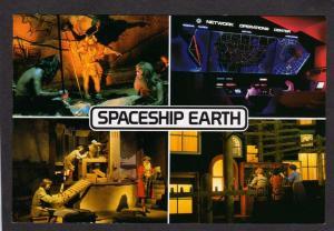 FL Epcot Ct Spaceship Earth Disney World Amusement Park Orlando Florida Postcard