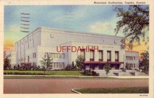 MUNICIPAL AUDITORIUM, TOPEKA, KS 1940