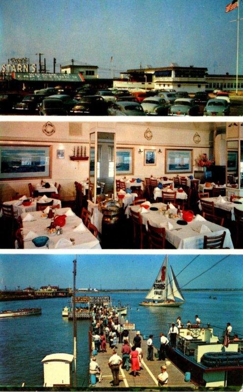 New Jersey Atlantic City Captain Starn's Restaurant & Boating Center At ...