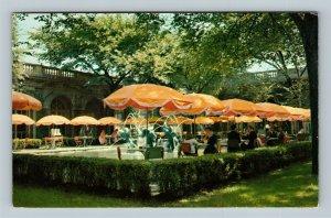 Chicago IL, Art Institute, Luncheon McKinlock Court, Chrome Illinois Postcard