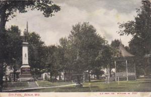 Wisconsin Berlin City Park 1907