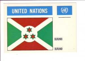 Burundi, Flag, United Nations