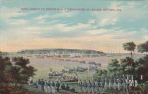Burial Scene Of The Officers Slain At Perry's Victory On Lake Erie 10 Septemb...