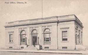 Post Office , OTTAWA , Illinois , 1900-1910s