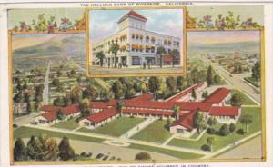 California Riverside Community Hospital and Hellman Bank