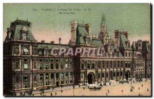 Old Postcard Paris L & # 39Hotel Town