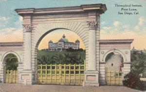 SAN DIEGO , California , PU-1911 ; Theosophical Institute, Point Loma