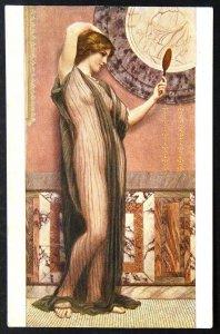 140496 GODWARD A Fair Reflection Nude Female Art RICHARD Ed IMP RUSSIA pc 1910