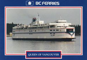 Canada Ferry Queen Of Vancouver British Columbia Ferries