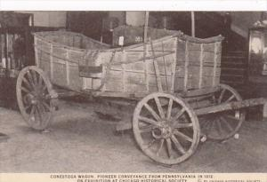 Illinois Chicago Historical Society Pioneer Conestoga Wagon