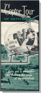 'Copter Tour Brochure, Gettysburg, Penn/PA, Bell Helicopters