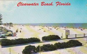 Florida Clearwater White Sands Of Clearwater Beach As Seen From Atop The Pier...