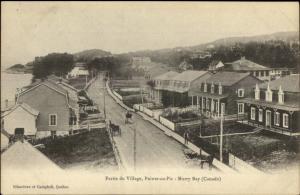 Partie Du Village Pointe Au Pic Murray Bay Quebec c1910 Postcard
