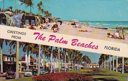Greetings From The Palm Beaches Florida 1975