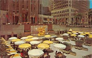 8033  NY New York City    Outdoor Dinning Rockefeller Center