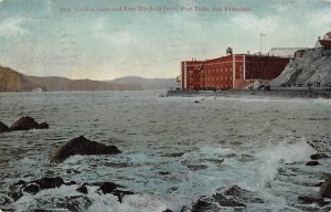 Golden Gate and Fort Winfield Scott, Fort Point San Francisco CA