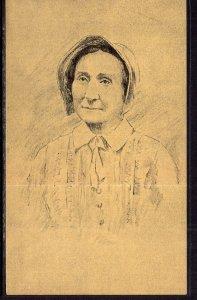 Maria Poe Clemm Drawing BIN