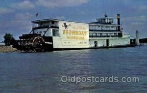 Snow boat Museum, Rhododendron Ferry Boat, Boats Postcard Postcards Unused