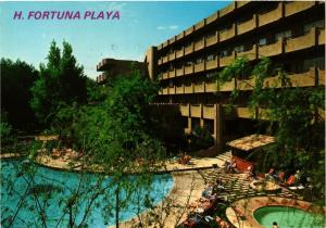 CPM ESPAGNE MALLORCA-Bahia de Alcudia-Hotel Fortuna Playa (334035)