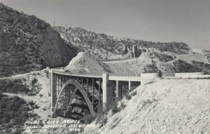 RP: GLOBE-SUPERIOR Highway , Pine Creek Bridge , Arizona, 1930-40s