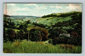 Ft. Thomas, KY-Kentucky, Peaceful Valley, Scenic Greeting, Vintage Postcard
