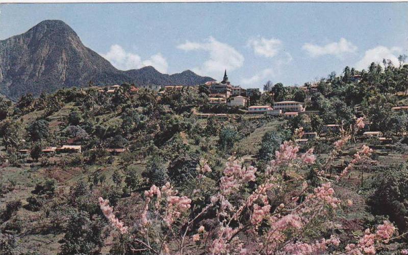 Un Beau Village Dans La Montagne, A Nice Mountain Village, Morne-Vert, Martin...
