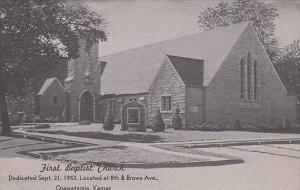 Kansas Osawatomie First Baptist Church