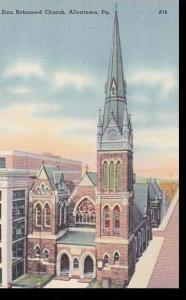 Pennsylvania Allentown Zion Reformed Church
