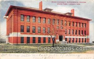 College Vintage Postcard Lincoln, Nebraska, USA College Vintage Postcard Stat...