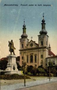 romania, MAROSVÁSÁRHELY, Târgu Mureș, Roman Catholic Church (1910s)