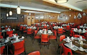 Sioux Falls South Dakota~Giovanni's Steak House~Dining Room Interior~1960s