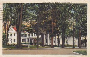 Home For Aged Women, Greenwich, New York, PU-1925